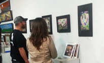 Scott Ferry exhibiting @ Renditions in Talahasee, FL